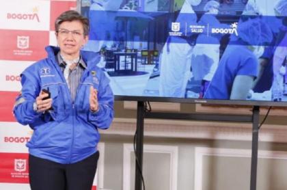 Claudia López le responde a periodista de Noticias Caracol  por informe que presentó sobre alta ocupación de camas UCI en Bogotá