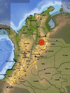 Temblor en Colombia este 19 de enero de 2021