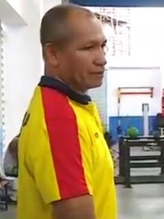 Oswaldo Pinilla deja de ser entrenador de la Selección Colombia de pesas. Imagen de referencia del preparador.