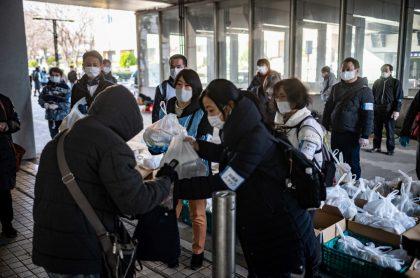 Imagen de las ayudas que reparten en Japón.
