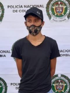 Juan Carlos Galvis, detenido que aceptó cargos por el delito de feminicidio por el asesinato de niña en Caldas