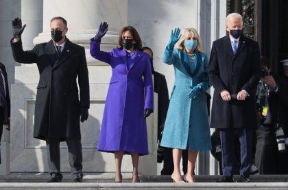 Fotos de primera dama de EEUU y otras mujer en posesión de Joe Biden