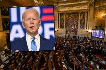 Salario que ganará Joe Biden, en pesos colombianos.