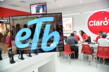 Claro y ETB fueron multados por la SIC en Colombia.