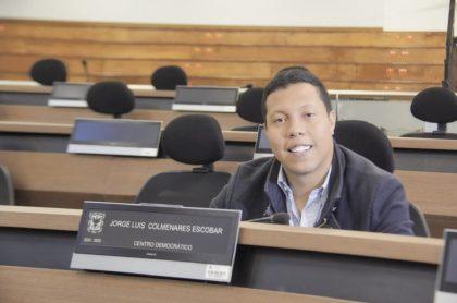 Concejal Jorge Colmenares responde a polémica por título universitario