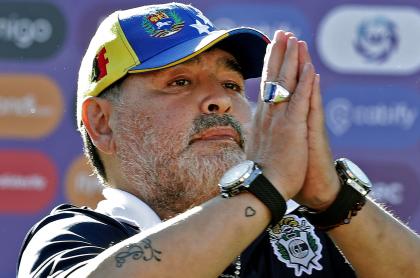 Ojeda y Oliva, exmujeres de Madona, pelean por en TV por fortuna del 10. Imagen de referencia del Diego Maradona.