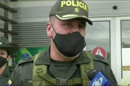 Coronel Rosemberg Novoa, comandante en Cauca, habló de la fiesta de policías en estación de Puerto Tejada.