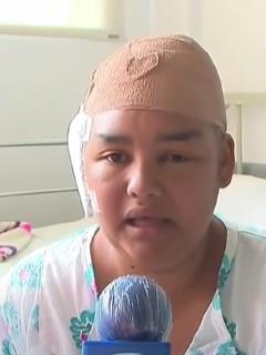 Yeni Lorena Tangarife, mujer a la que le secuestraron sus dos hijas.