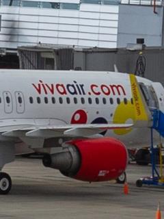 Avión de Viva Air ilustra nota sobre multa que Supertransporte le impuso a esa aerolínea