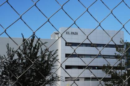 """Imagen de la sede del periódico español El País ilustra artículoAFP dice que grupo Prisa es """"un gigante... fuertemente endeudado"""""""