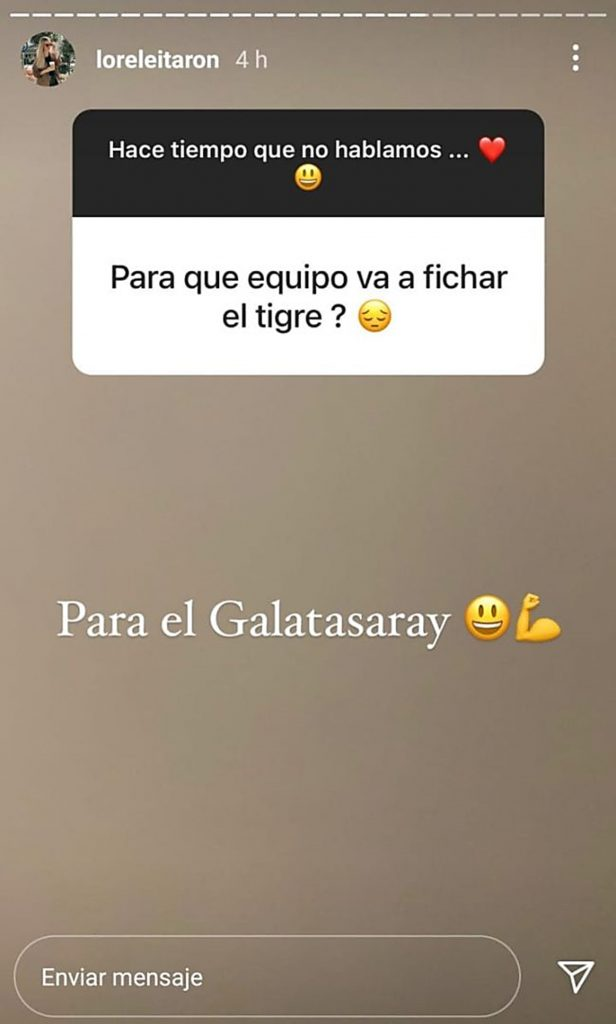 Instagram @loreleitaron