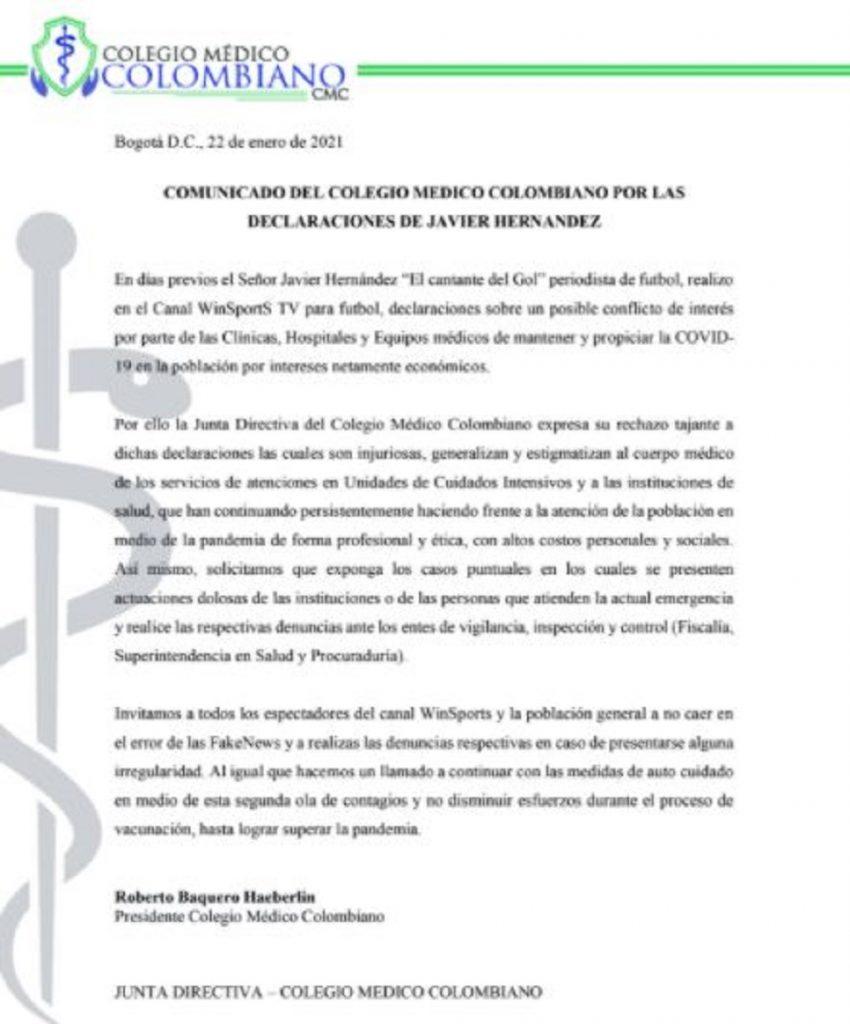 Colegio Médico Colombiano
