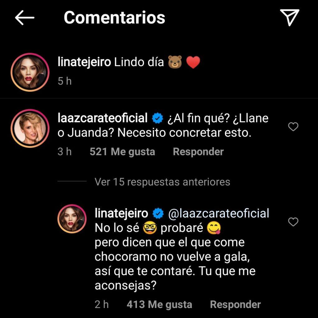 Instagram: @linatejeiro