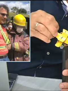Óscar Marín, piloto de avión que sobrevivió a un accidente en Copacabana, cuenta detalles del choque