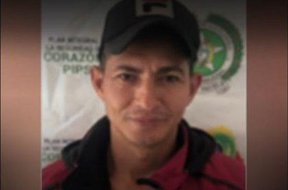 Bercelio Campuzano Arrieta, alias 'Ratón', jefe del Eln neutralizado en Bolívar.