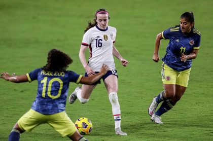 Videos: goles de Selección Femenina de Estados Unidos a Colombia