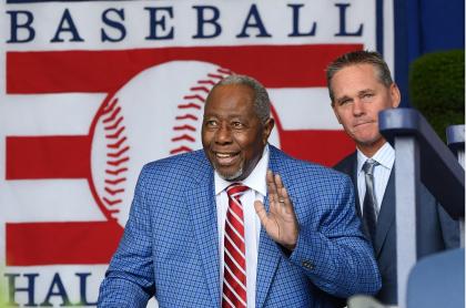 Hank Aaron, leyenda del béisbol de Estados Unidos, murió a los 86 años.