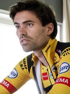 Tom Domoulin anuncia su retiro temporal del ciclismo. Imagen de referencia del pedalista del Jumbo-Visma.