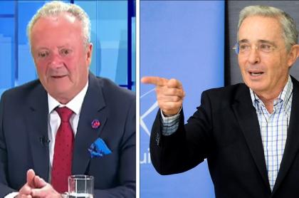Arturo Calle y Álvaro Uribe