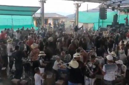 Fiestas en el Cauca sin distanciamiento. Videos en los municipios de El Patía, El Tambo y Timbío.