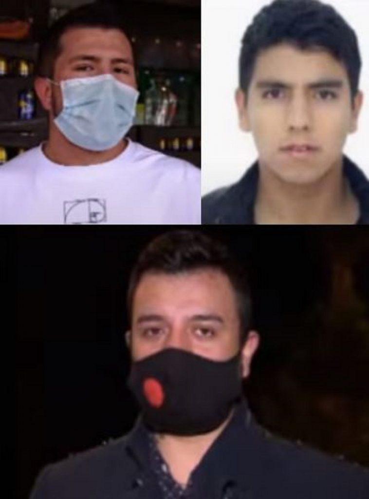 Implicados de homicidio de Ana María Castro - pantallazo 'Séptimo Día'