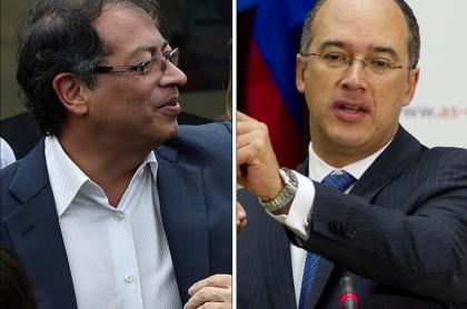 Gustavo Petro y Juan Carlos Echeverry