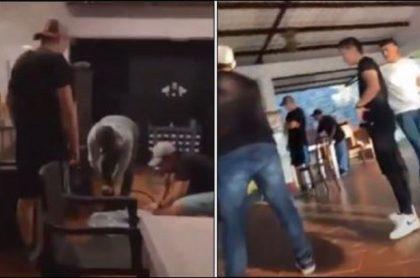 Joven asesinada grabó festejo con sus amigos antes de la masacre en Buga, y allí se ve que se estaban divirtiendo en una finca