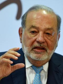 Carlos Slim, magnate mexicano.