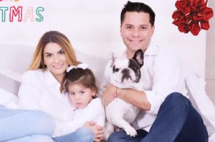 Luis Carlos Vélez y Siad Char, quienes esperan a su segundo hijo