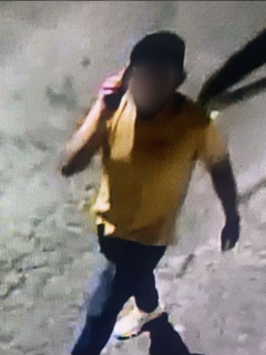 Imagen del joven al que le dispararon al confundirlo con un ladrón, en San Gil