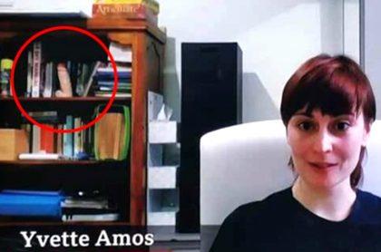 Imagen de la entrevistada que descuidó sus ornamentos.
