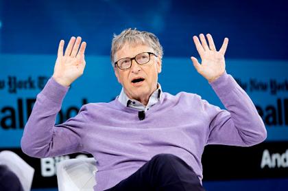 Bill Gates, cuarto hombre más rico del mundo.