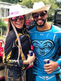Foto de 'Cuca' y Marlon, quienes dijeron si 'Guerreros' es libreteado