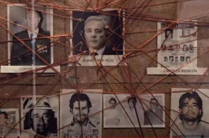 Serie Matarife, que ataca a Álvaro Uribe y ahora fue traducida al francés