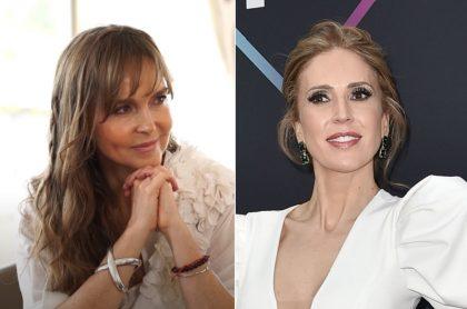 Beatriz Fernández, dueña de Crepes & Waffles,y  Alejandra Azcárate, actriz, ilustran nota sobre su relación, son primas.