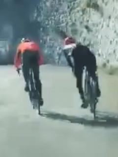 Egan y Sosa protagonizan brutal duelo en montaña de Mónaco