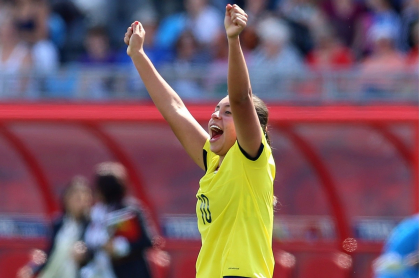 Yoreli Rincón fue la única colombiana en equipos de la década pasada de la IFFHS.