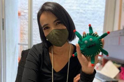 Doctora Fernanda Hernández, de Noticias Caracol, tiene COVID