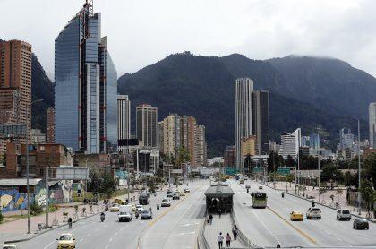 Bogotá en medio de cuarentena, que podría terminar antes de lo pensado