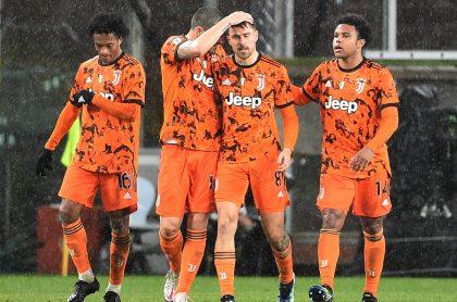 Juan Guillermo Cuadrado realizó una asistencia en el triunfo 2-0 de la Juventus sobre la Sampdoria por la fecha 20 de la Serie A.