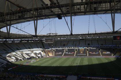 Final de la Copa Libertadores 2020 entre Palmeiras y Santos.
