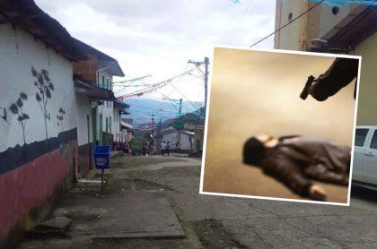 Corregimiento de Ochalí, municipio de Yarumal, Antioquia, donde un líder social campesino fue asesinado y decapitado.