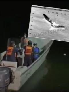 Imágenes de las lanchas accidentadas y de la búsqueda por parte de la Armada, en Tumaco