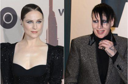 Actriz Evan Rachel Wood denuncia abuso de Marilyn Manson cuando joven.