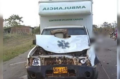 Ambulancia mató a vacas y dueño del ganado deberá pagar daños, en Sucre