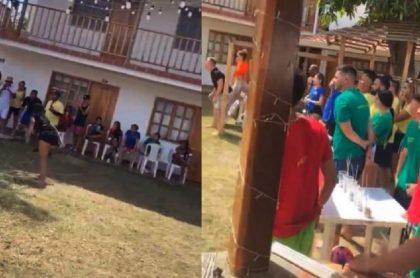 'Influencers' armaron masiva fiesta en plena pandemia, en Santa Marta
