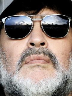 Sobrino culpa a Diego Maradona de su propia muerte. Foto de referencia del exjugador argentino.