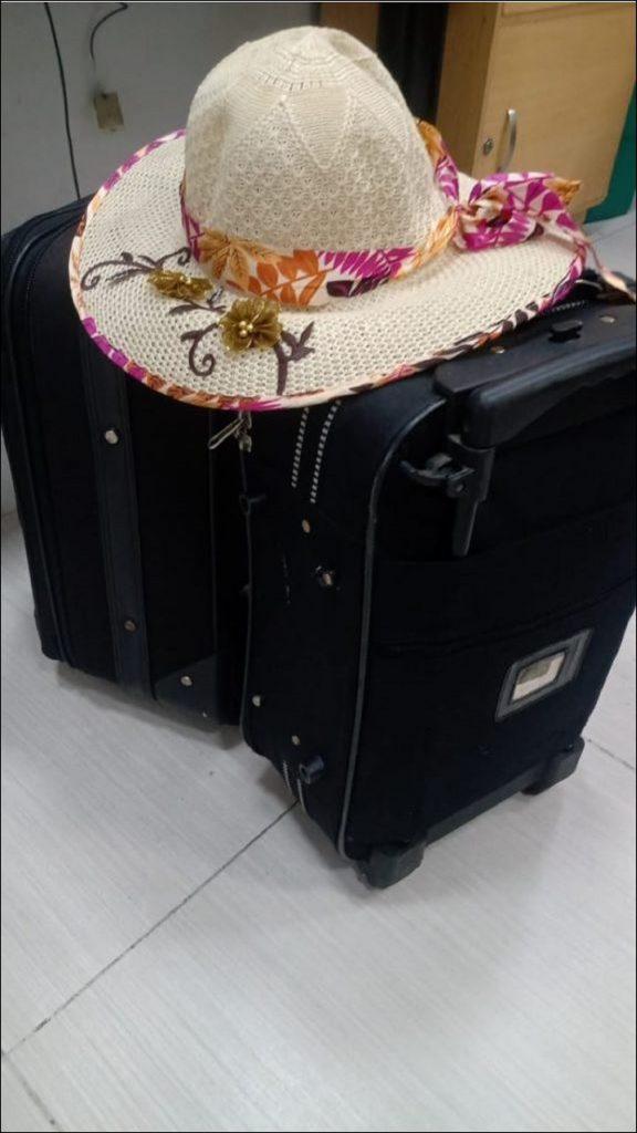 Imagen del equipaje que se extravió / tomada de Emisora Atlántico