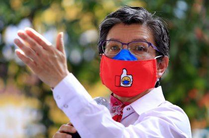 Claudia López, alcaldesa de Bogotá que en su primer año de gobierno tuvo cuestionados resultados en materia de seguridad