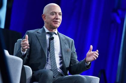 Jeff Bezos, quien dejará de ser el CEO de Amazon este año